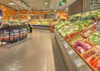 Obst- und Gemüseabteilung in Ihrem Supermarkt EDEKA Göbel